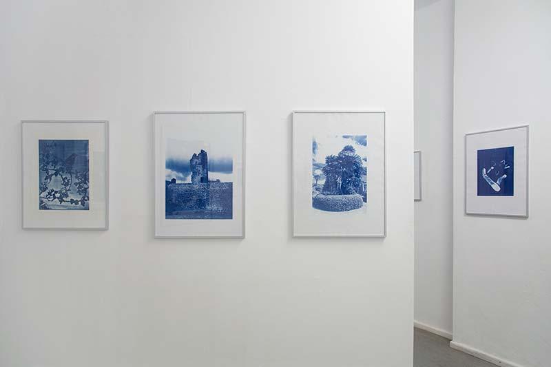 Blue Notes #3, nach Originalen von Anton Henning, Maya Schweizer, Yuki Jungesblut und Ulrike Mohr, COPYRIGHTberlin