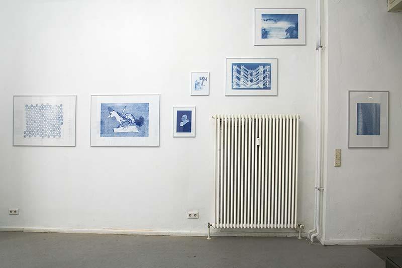 Blue Notes #3, nach Originalen von Veit Stratmann, Peter Anders, Astrid Köppe, Isabel Pauer, Hagen Schümann, Norbert Artner, COPYRIGHTberlin