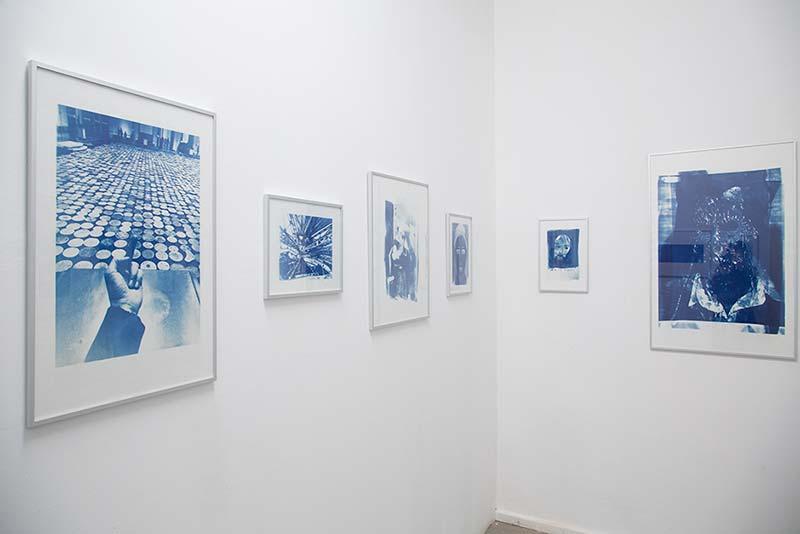 Blue Notes #3, nach Originalen von Minor Alexander, Roland Fuhrmann, Patrick Huber, Katharina KErn, Frédéric Vincent, Tobias Trutwin, COPYRIGHTberlin