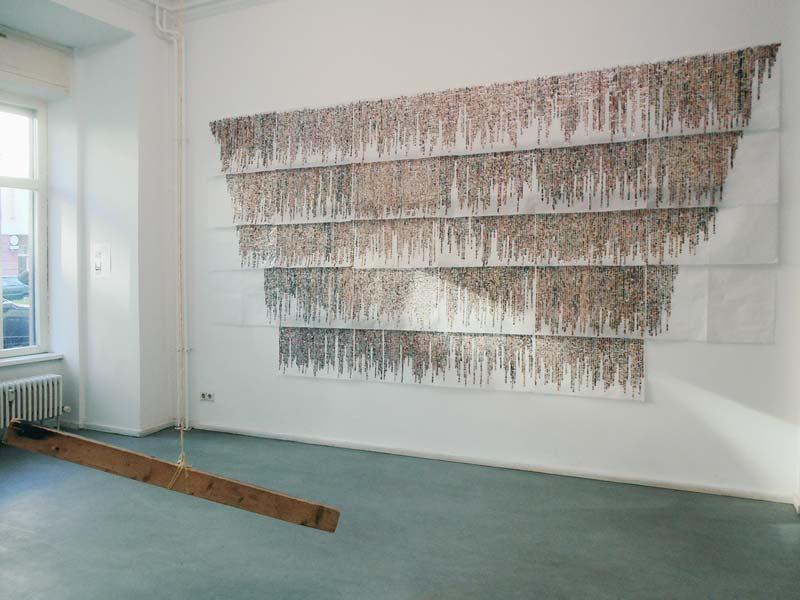 Arbeit von Anaïs Héraud-Louisadat, Foto: Ute Lindner