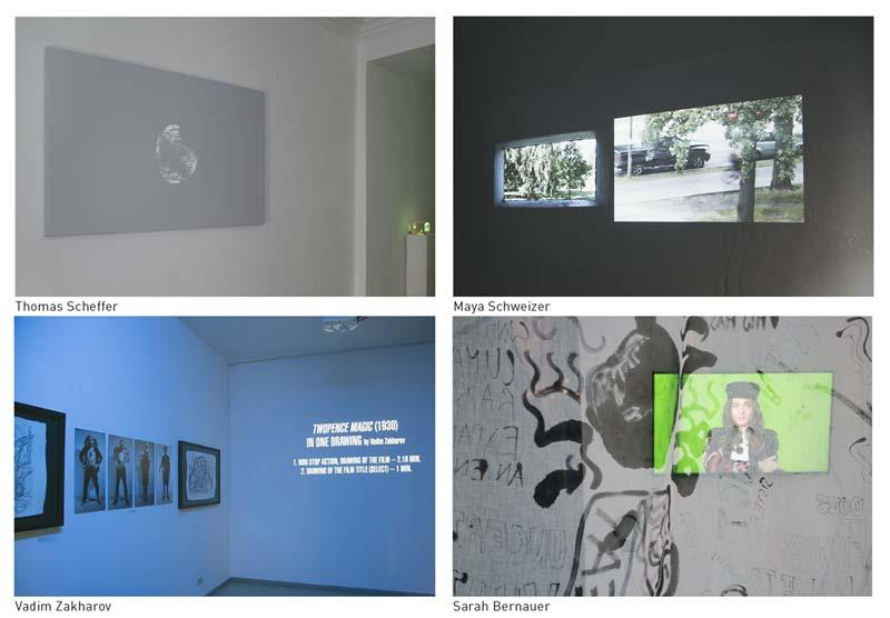Künstlergespräch mit Sarah Bernauer, Thomas Scheffer, Maya Schweizer und Vadim Zakharov