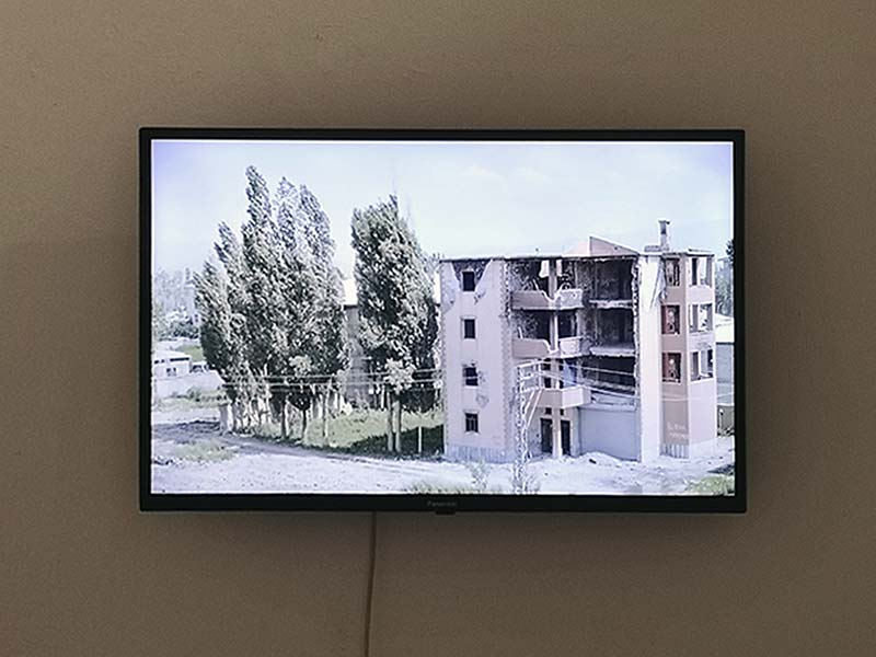 """The State We Are In"" by Savaş Boyraz at COPYRIGHTberlin, photo: Ute Lindner"