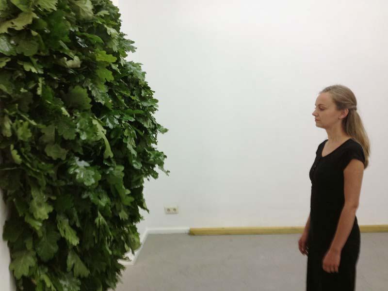 Performance mit Kasia Gorzcinska